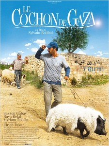 Le cochon de Gaza Affiche 1